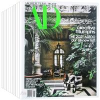 美国 AD杂志 订阅2021年 E04 别墅豪宅 住宅室内空间软装设计杂志 ARCHITECTURAL DIGEST