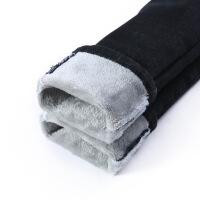 加绒牛仔裤女2018秋冬季新款黑色韩版弹力显瘦高腰小脚裤保暖长裤