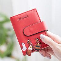 2018新款迷你小巧卡包女式多卡位证件位驾驶证卡片包