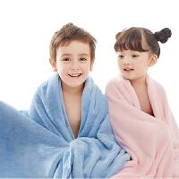 【两件包邮】卡伴婴儿浴巾新生儿洗澡巾柔软吸水毛巾被子儿童宝宝盖毯75*90