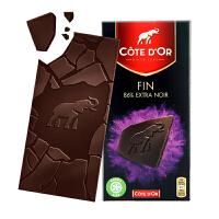 Cote D'or克特多金象 亿滋进口 比利时86%可可黑巧克力排装100g 七夕* 休闲小零食