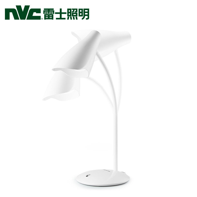 NVC  雷士照明 LED台灯 无极调光 学生儿童学习工作台宿舍折叠床头灯