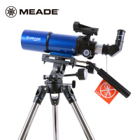 买一送三米德天文望远镜80AZ 80/400折射入门便携天文望远镜摄影镜观天观景天地两用