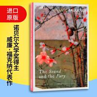 喧哗与骚动 英文原版 The Sound And The Fury 诺贝尔文学奖得主 福克纳 一部完整的创作艺术教科书