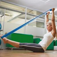 拉力带健身力量训练瑜伽用品塑形拉力绳健身儿童阻力扁皮筋瑜伽带