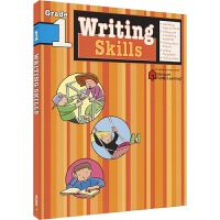 Harcourt Family Learning Writing Skills 写作技巧和思路 小学1年级练习册 儿童英
