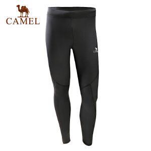 camel骆驼运动男款针织长裤 弹力透气快干速干时尚运动裤