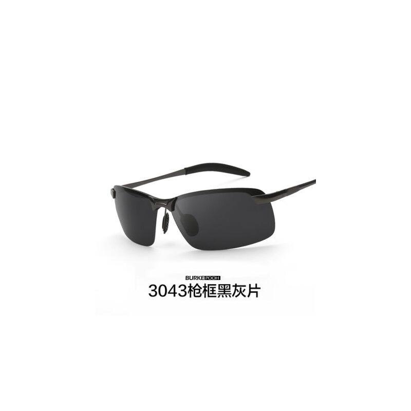 男士太阳镜开车无框偏光镜墨镜太阳眼镜司机专用驾驶镜潮 品质保证 售后无忧 支持货到付款