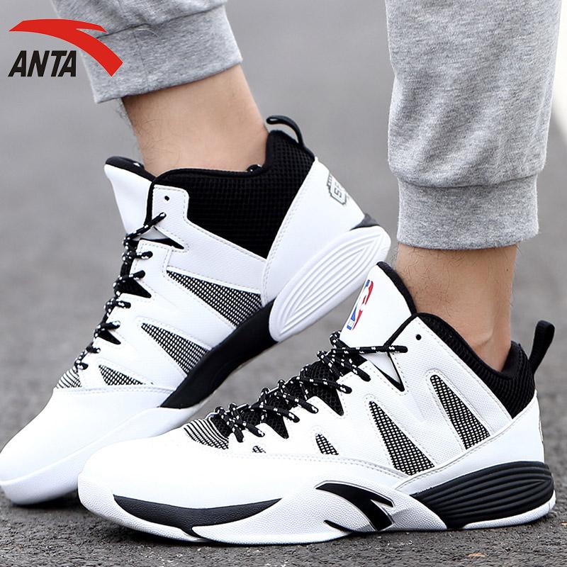 安踏男鞋篮球鞋 2018新款透气防滑耐磨运动鞋篮球战靴11631307