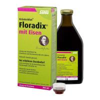 【2瓶装】 德国Salus Floradix铁元 女性孕妇补铁补气补血抗疲劳  绿元 700ml  2瓶装
