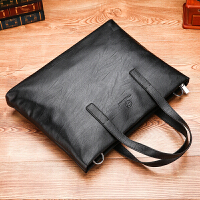 商务公文包电脑包手提包男士包包新款潮流休闲多功能文件包手提包商务包单肩包斜挎包