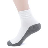 №【2019新款】男人穿的袜子男纯棉新款短袜秋运动袜黑色中筒袜全棉商务男袜棉袜