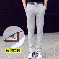 男士运动裤休闲卫裤男装长裤修身裤子 直筒裤男