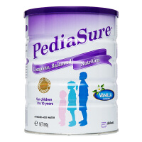 保税区/澳洲直邮 雅培(Abbott) Pedia Sure澳洲版小安素 全营养配方粉香草味(1-10岁) 850g/