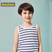 巴拉巴拉童装男童背心中大童无袖上衣夏装新款小孩儿童男