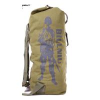 新款正品 男女户外旅行运动休闲帆布双肩包 大容量登山包 防水耐磨时尚百搭