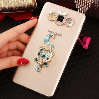 三星A5手机壳SM-A5009保护套A5000带水钻新款透明软Galaxy外壳女