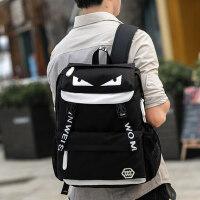 韩版中学生书包双肩包男士背包 女旅行旅游双肩背包休闲电脑潮包