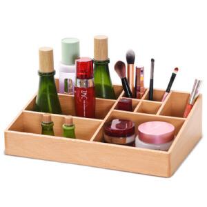 梳妆架 大号桌面化妆品收纳盒口红浴室梳妆台架子整理护肤品盒子抽屉式置物架创意家居