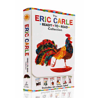 进口英文原版 卡尔爷爷 Eric Carle Ready to Read Collection 六本盒装 Have Y