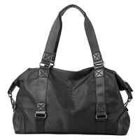 旅行包手提型新款男包时尚手提包 休闲户外手提包旅行包 单肩斜挎包韩版包 黑色 手提包