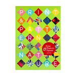 现货包邮 英文原版 Print Pattern: Nature 自然主题图案 树叶 昆虫 草 蝴蝶和树木图案设计