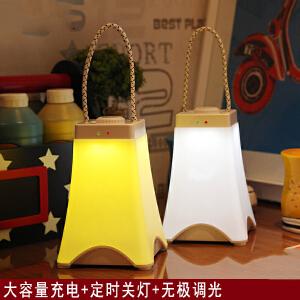 御目 小夜灯 LED节能创意充电插电学生宿舍卧室床头护眼灯喂奶婴儿睡眠灯 创意灯具