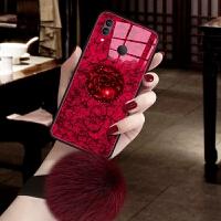 红米note7手机壳hongminote7玻璃n0te7冷淡风nont7网红redminote7个性