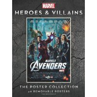 Marvel Heroes and Villains: The Poster Collection (Insights