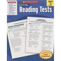Scholastic Success With Reading Tests Grade 3 美国学乐成功系列 三年级 阅