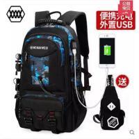【支持礼品卡】沃曼威斯欧美双肩包旅行运动背包男韩版旅游书包登山包大容量电脑