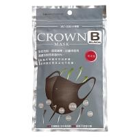 CROWN减压塑颜贴合口罩 (三入/包) *3包入