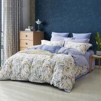 四件套全棉纯棉小清新床上用品三件套单人床床单被套 1.2m (建议搭配使用150X200cm的被芯