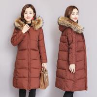 羽绒女中长款2018冬新款韩版棉衣女反季大码修身过膝棉袄外套