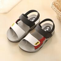 201908212235504542019年夏季男童鞋英伦2-6岁宝宝童凉鞋儿童防滑凉鞋小童塑料软底沙滩鞋运动机能鞋小