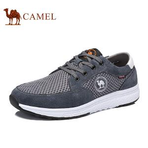 骆驼牌 男鞋 新品轻盈舒适运动潮鞋透气休闲低帮鞋男
