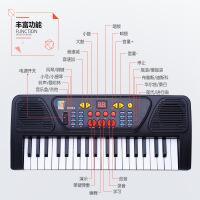 多功能麦克风宝宝钢琴 女孩仿真37键电子琴 儿童音乐乐器玩具
