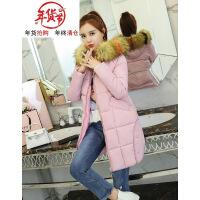 棉袄女士2018新款韩版冬季棉衣中长款宽松bf大码加厚外套