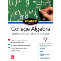 Schaum's Outline of College Algebra, Fifth Edition 97812601