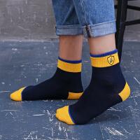 3双浪莎男袜子纯棉短袜低帮篮球男士袜子男棉袜全棉夏季运动防臭短筒