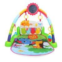 美贝乐 新生婴儿钢琴健身架3-6-12个月宝宝健身器摇铃爬爬垫668