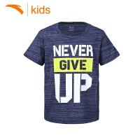 安踏童装中大童t恤夏季学生上衣 2017新款男孩运动短袖35728141