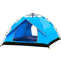 御目 帐篷 全自动户外野营3-4人二室一厅家庭双人单人野外露营三用遮阳罩满额减限时抢礼品卡户外用品