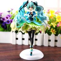 初音未来女模型 Miku中国版VOCALOID玩具摆件 美女卡通动漫周边礼品礼物