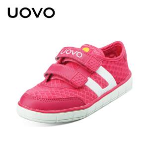 UOVO童鞋新款男女童儿童运动鞋网布透气中小儿童休闲鞋春夏秋三季可穿 昆士兰