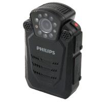 【送64G高速卡包邮】飞利浦(PHILIPS)VTR8200 执法取证 便携音视频 执法记录仪 1296P高清红外广角