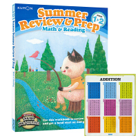 Kumon Summer Review & Prep Math & Reading G1-2 公文式教育 小学一二年级