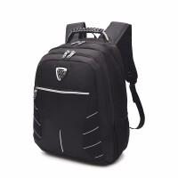 2018新款商务休闲双肩电脑包旅行背包潮流时尚书包学院风大容量旅行背包 宽33 高46 厚