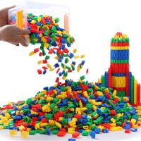 火箭子弹头积木玩具5-7-8-9女孩智力拼装3-6周岁 儿童益智男孩4岁