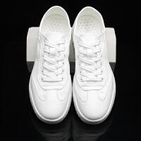 帆布鞋男纯白色春季2019新款韩版潮流平板鞋夏季白鞋英伦透气布鞋夏季百搭鞋 39 标准运动码